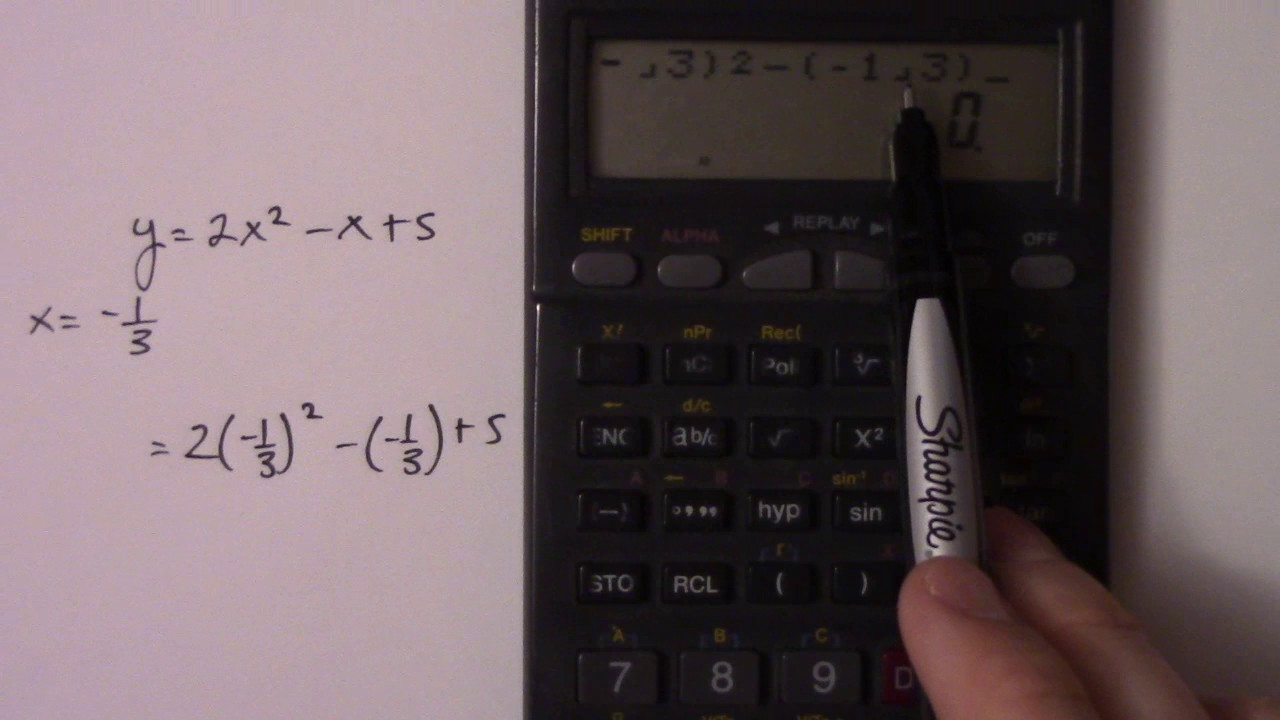 Calculating Fractions On A Calculator