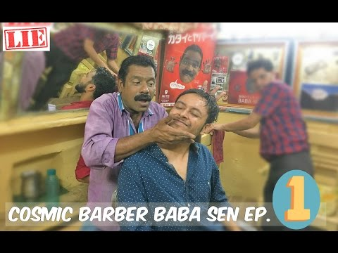 Worlds Greatest Head Massage Ep.1 Original Uncut (60 fps) | Cosmic Barber Baba Sen | ASMR No talking