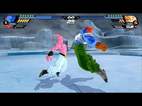 Fusion Android C-13 and Super Buu (Dragon Ball Z Budokai Tenkaichi 3 mod)