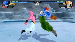 Fusion Android C-13 and Super Buu (Dragon Ball Z Budokai Tenkaichi 3 mod)