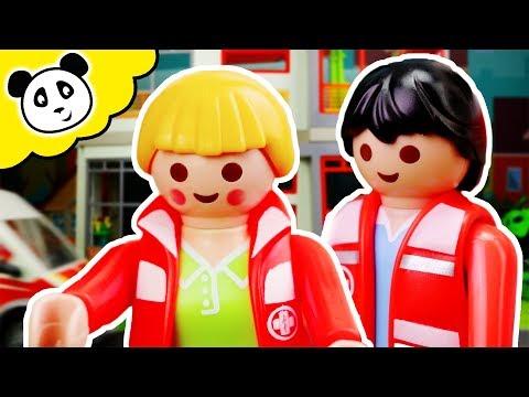 Playmobil Krankenhaus - Sanitäter im Einsatz! - Playmobil Film