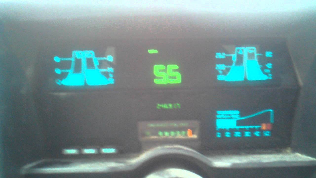 1989 Chevy s10 digital dash on the hwy  YouTube