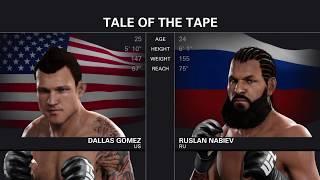 скоростное прохождение UFC 2 : Карьера за час