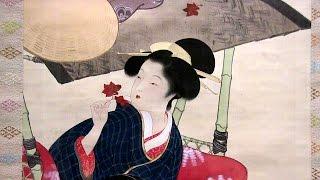 九條武子《紅葉狩》 山種美術館 松園と華麗なる女性画家たち