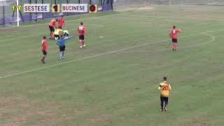 Eccellenza Girone B Sestese-Bucinese 1-1