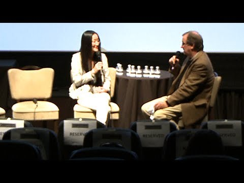 Kung Fu Panda and Puss In Boots at Deadline Hollywood Presents: The Contenders