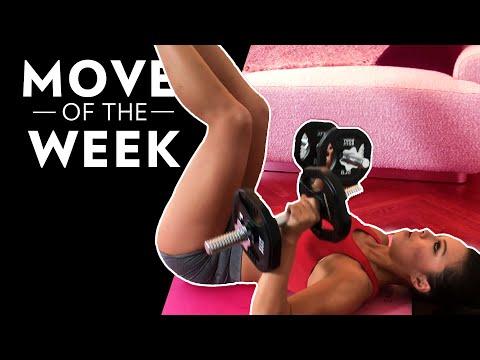 BodyRock Move of the Week: Reverse Crunch + Press