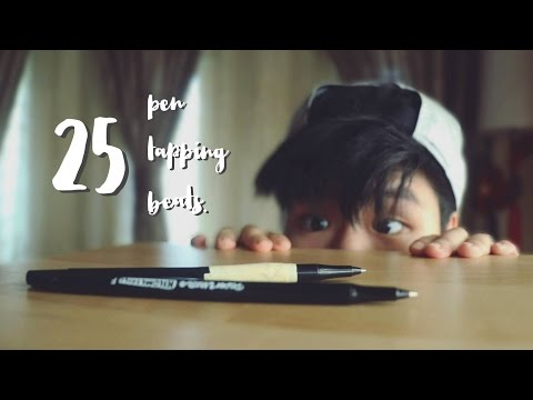 25 Different Pen Tapping Beats