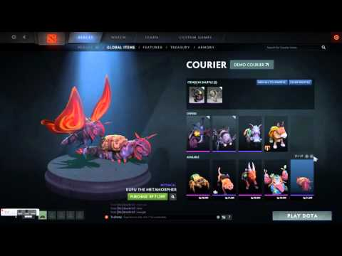 Dota 2 All Couriers and Price