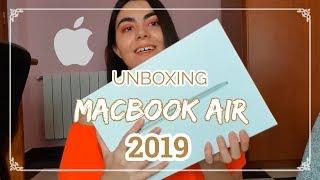 UNBOXING MACBOOK AIR 2019!