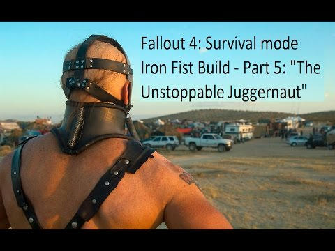 """Fallout 4: Survival mode with Lord Humungus - Part 5 """"The Unstoppable Juggernaut"""""""