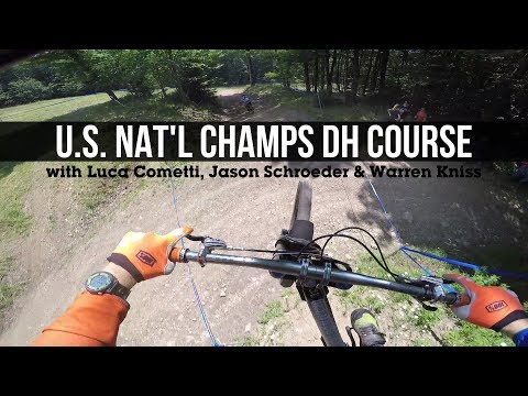 The Best of Everything? U.S. Nat'l Champs Pro DH Course at Snowshoe, WV