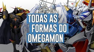 Todas as formas do Omegamon