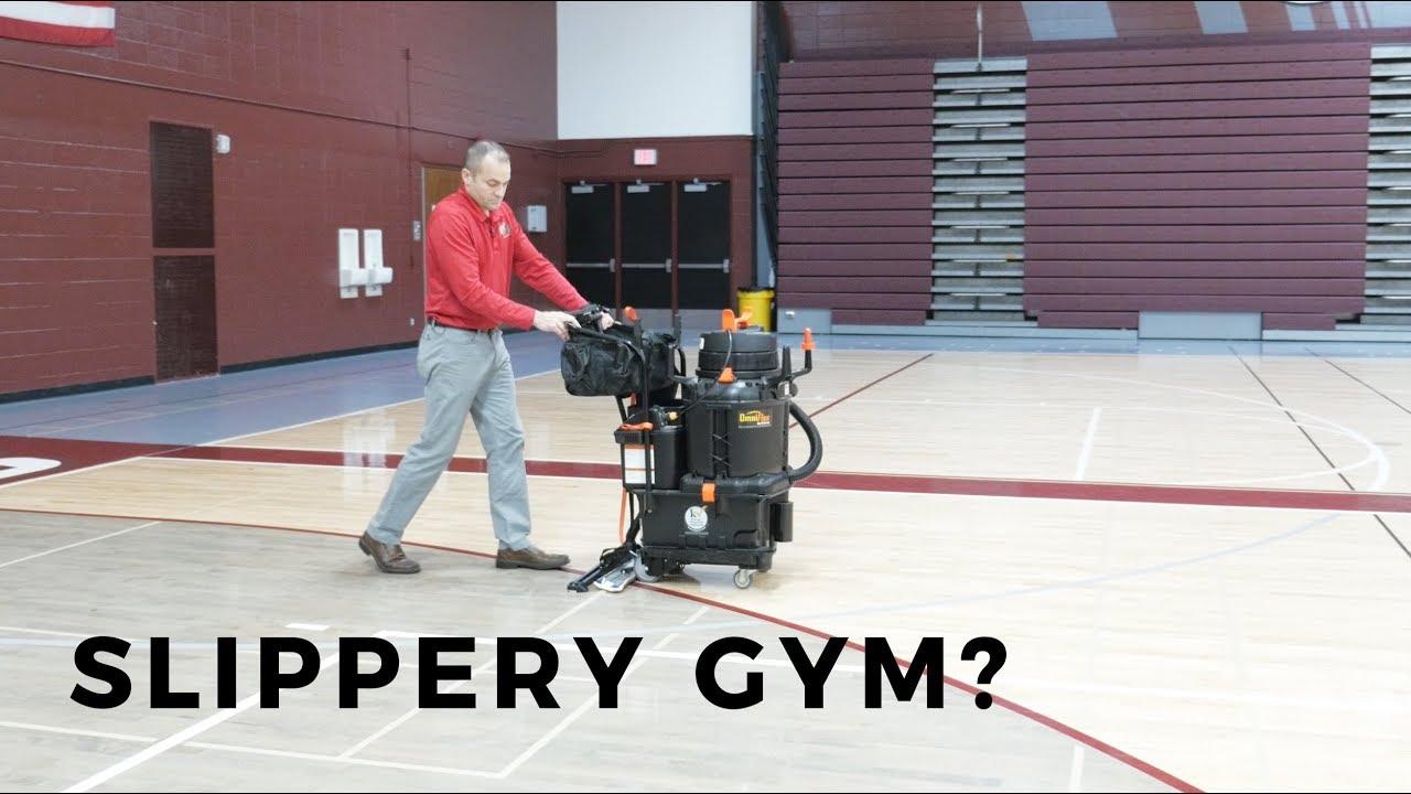 How To Fix Your Slippery Gym Floor YouTube - Slippery floor tiles fix