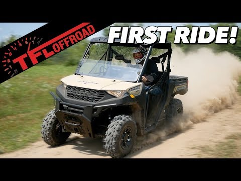 First Dirt Review: 2020 Polaris Ranger 1000 - Best New Utility Side-by-Side?