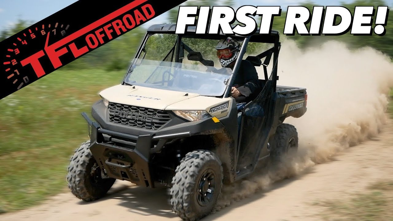 Best Side By Side Utv 2020.First Dirt Review 2020 Polaris Ranger 1000 Best New Utility Side By Side