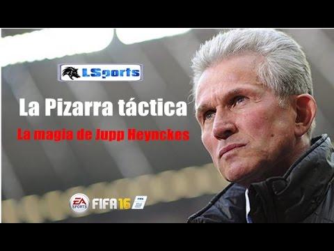 FIFA 16 - LA PIZARRA TÁCTICA - LA MAGIA DE JUPP HEYNCKES!