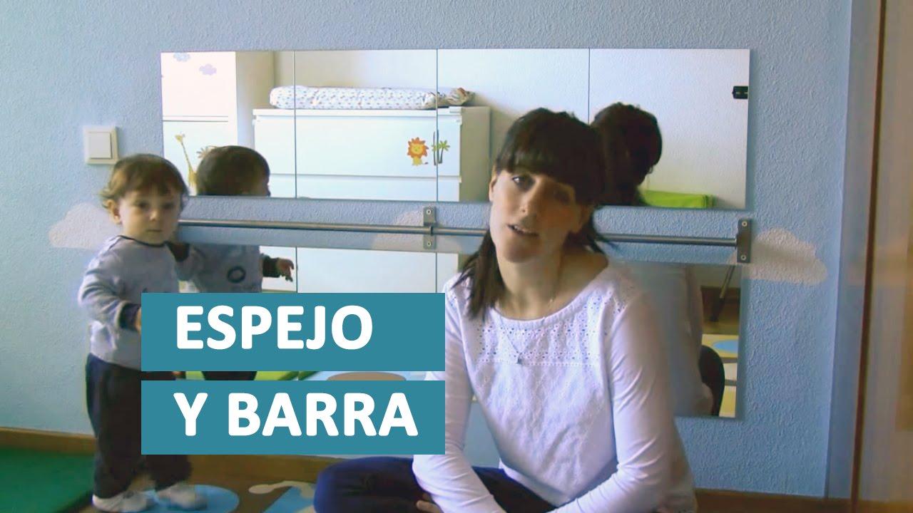 Aprendiendo a caminar montessori bebe estimulacion for Espejo y barra montessori