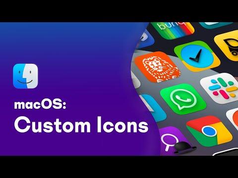 How To Change App \u0026 Folder Icons On MacOS!