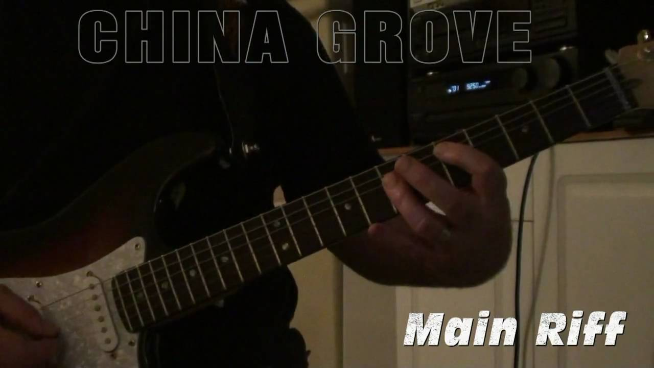 China grove guitar lesson youtube china grove guitar lesson hexwebz Gallery