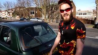 PewDiePie's new car: PewDiePie deleted video