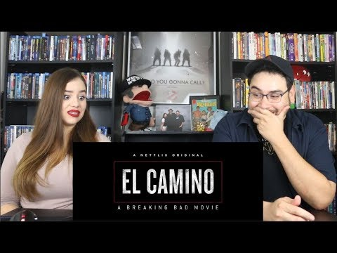 El Camino A BREAKING BAD MOVIE - Official Trailer Reaction / Review