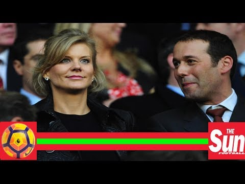 Amanda staveley at newcastle stadium st james' park for 1-1 draw with liverpool amid takeover rumou