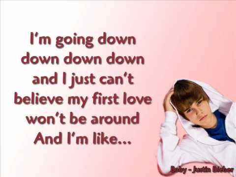 [LYRICS] Baby - Justin Bieber ft. Ludacris