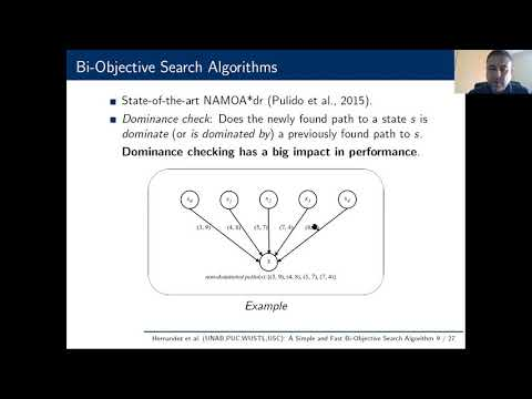 """ICAPS 2020: Ulloa et al. on """"A Simple and Fast Bi-Objective ..."""