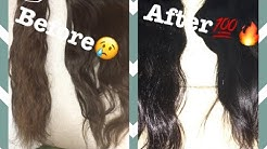 REVIVING OLD WEAVE BUNDLES, WIGS WITHOUT USING SILICONE MIX OR BOILING 2017