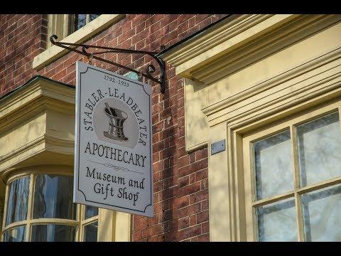 Stabler-Leadbeater Apothecary Museum tour, Alexandria Va