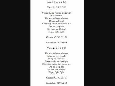 DC United Fight Song