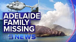 New Zealand volcano: Aussie schoolgirl missing | Nine News Australia
