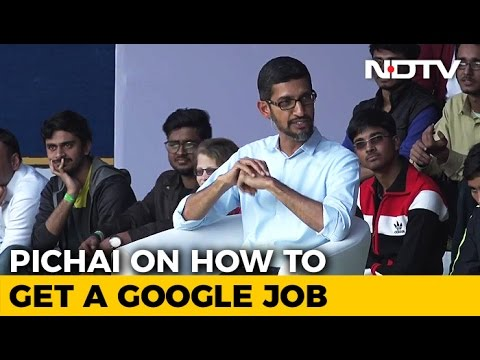 Google's Sundar Pichai says future of office is employee 'on-sites ...