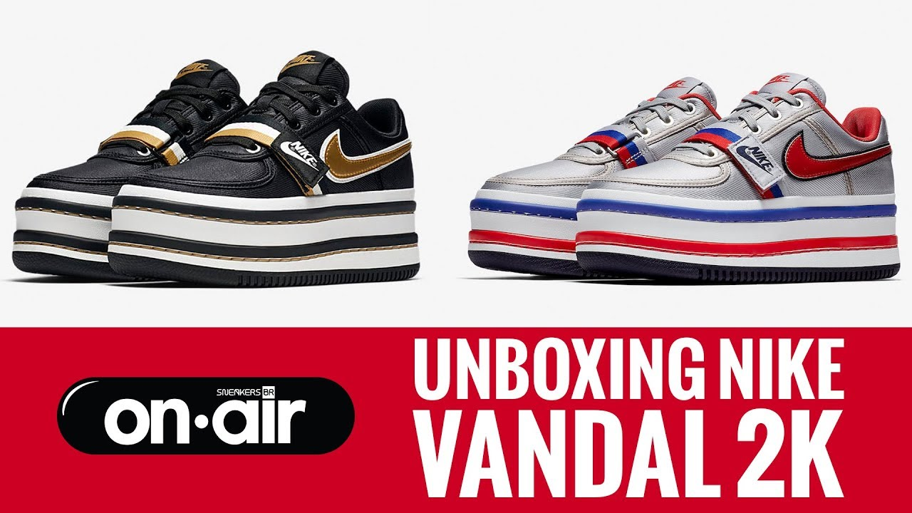 huge selection of f0291 4201e 67 - Unboxing Nike Vandal 2k piranomeuair