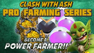 Clash Of Clans | FARM ELIXIR FAST! 3 PHASE FARMING [Max Your Grand Warden!] Th11/10