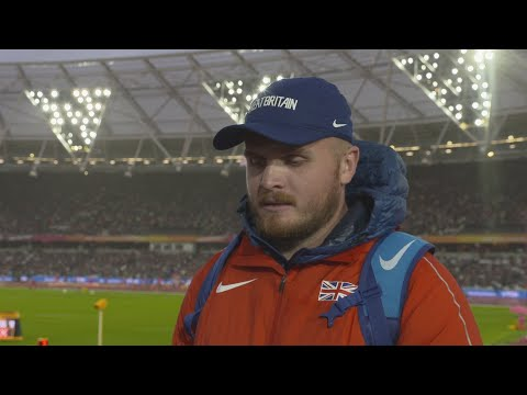 WCH 2017 London- Nick Miller GBR Hammer throw qualification Group A