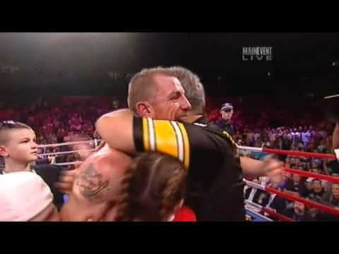 Anthony Mundine Knocked Out By Garth Woods