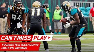 Fournette's TD & Free Throw Celebration Lead to Lewis' Big 2-Pt Try | Can't-Miss Play | NFL Wk 13