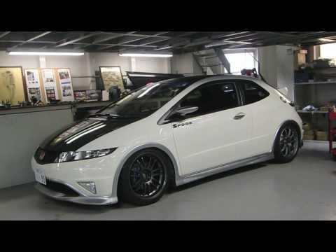 SPOON Civic Type R Euro (FN2) Part2