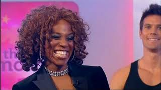 Whitney Houston's sister Alexis Houston - Actions live on This Morning 22nd September 2010