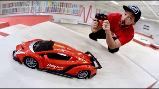 CHEAPEST RC CAR ON AMAZON! (In The Skatepark)