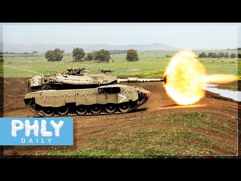 MERKAVA 2D Main Battle Tank (Armored Warfare Gameplay)