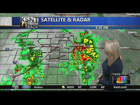 Friday AM KSNT Weather Update