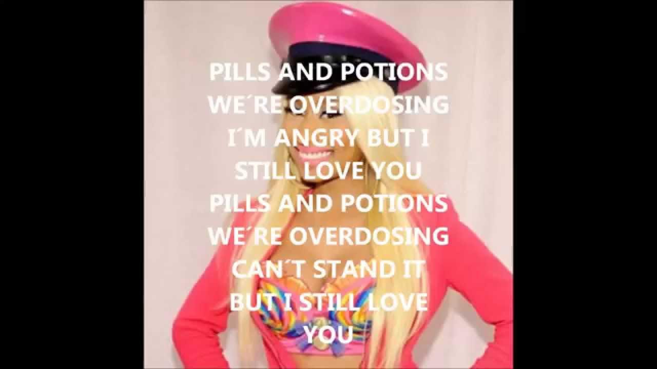 Download Nicki Minaj - Pills and potions lyric video