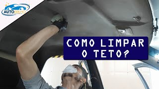 COMO LIMPAR E HIGIENIZAR O TETO DO SEU CARRO!