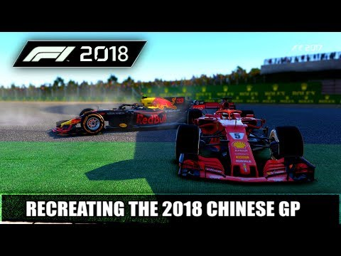 F1 2017 GAME: RECREATIING THE 2018 CHINESE GP