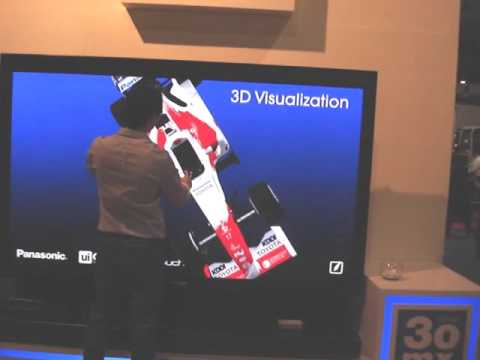 Multi-touch 3D Visualization and Manipulation