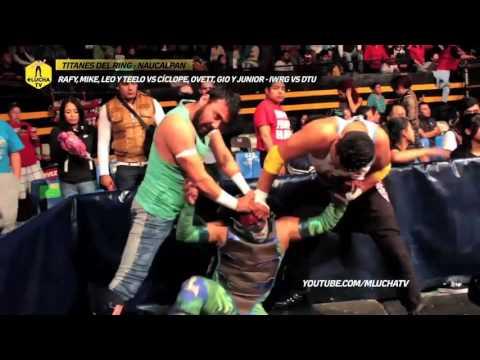 Las Tortugas Ninja vs La Pandilla DTU, Titanes del Ring IWRG vs DTU