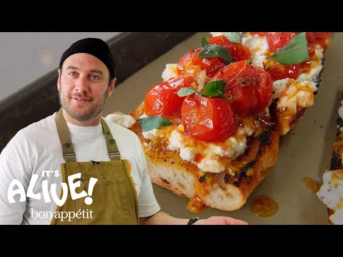 Brad Makes Charred Tomato Toast | It's Alive | Bon Appétit